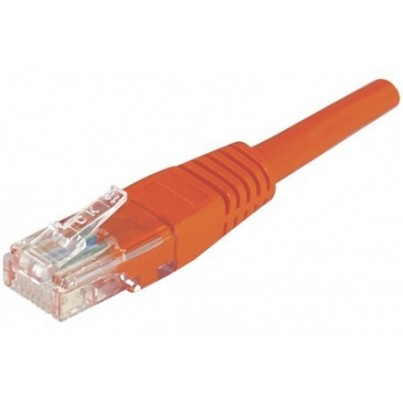 Cordon CAT6 non blindé 3m Rouge